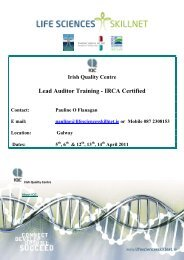 Lead Auditor Training - IRCA Certified