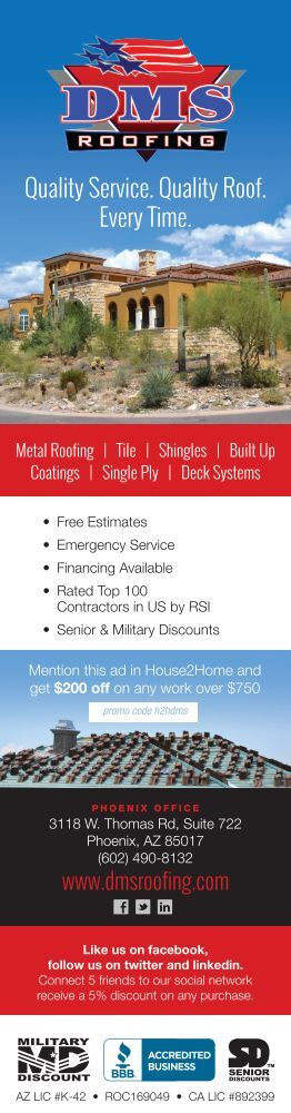 DMS Roofing – Quality Phoenix Roofing Every Time