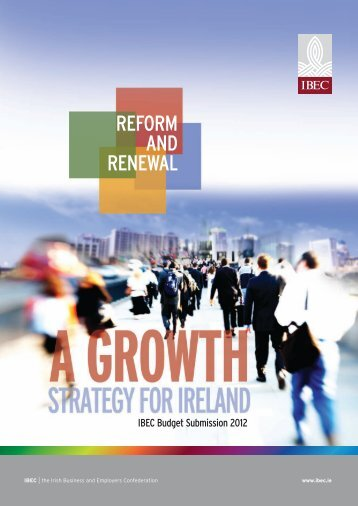 IBEC Budget Submission 2012.pdf - Irish Business and employers ...