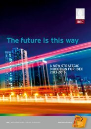 The future is this way - Irish Business and employers confederation