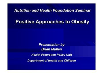 Brian Mullen.pdf - Nutrition and Health Foundation
