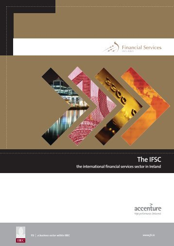 The IFSC - Financial Services Ireland