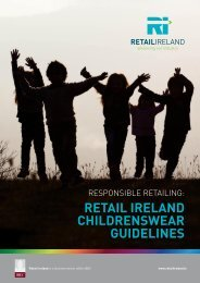 retail ireland childrenswear guidelines - Irish Business and ...