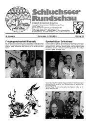 Rundschau Nr. 12.pdf - Gemeinde Schluchsee