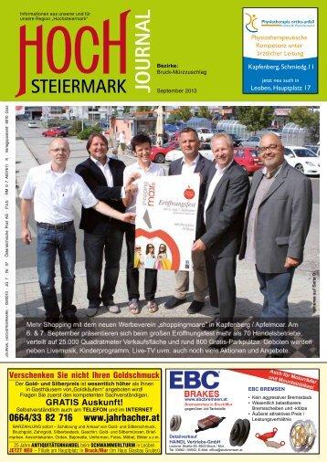 0664/33 82 716 www.jahrbacher.at - Hochsteiermark Journal