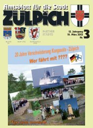 Amtsblatt0313.pdf - Stadt Zülpich