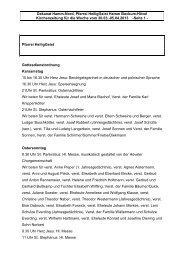 Kirche und Leben Aktuell Ostern 2013 - Katholische Pfarrei Heilig ...