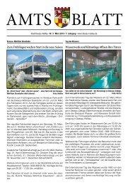 Amtsblatt für die Stadt Dessau-Roßlau – Amtliches Verkündungsblatt