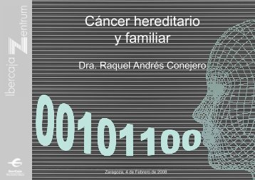 Cáncer hereditario y familiar