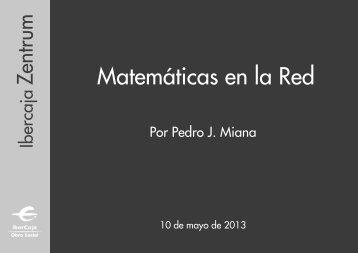 Matemáticas en la Red