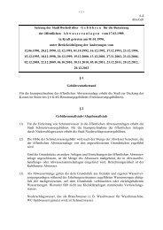Ortsrecht der Stadt Bocholt