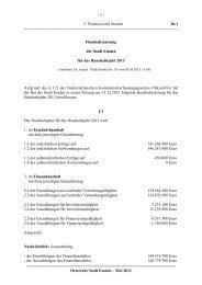 20-1 Haushaltssatzung 2013 - Stadt Emden