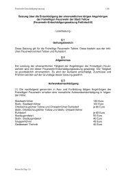 Satzung über die Entschädigung der ... - der Stadt Teltow