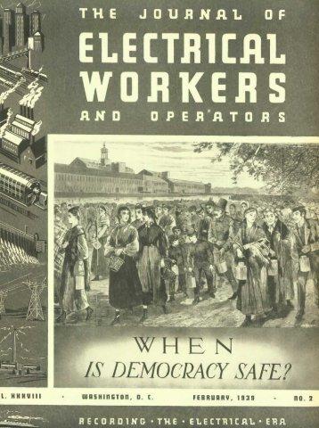 BfS DEMqOCPACY SAFE - International Brotherhood Of Electrical ...
