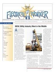 IBEW, Utility Industry Meet in the Middle - International Brotherhood ...