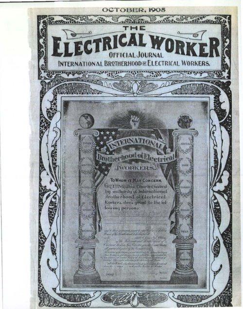 1905-10 October Electrical Worker.pdf - International Brotherhood of ...