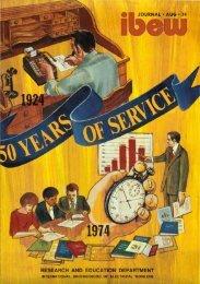 1974-08 August IBEW Journal.pdf - International Brotherhood of ...