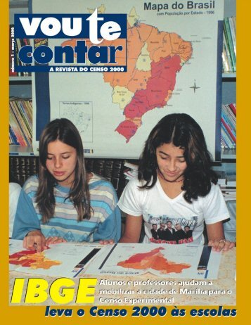 Revista do Censo nº 01 - IBGE