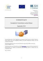 Eurokontakte September 2013