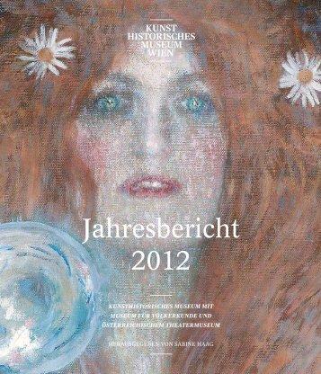 KHM Jahresbericht 2012 - Presse - Kunsthistorisches Museum Wien
