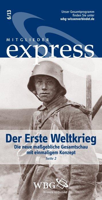 Der erste Weltkrieg - WBG