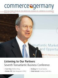Listening to Our Partners Seventh Transatlantic Business Conference