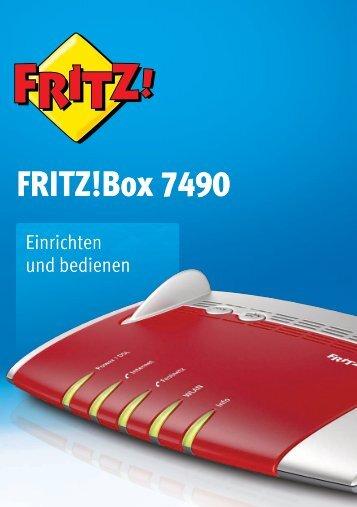 Handbuch FRITZ!Box 7490 [pdf] - AVM