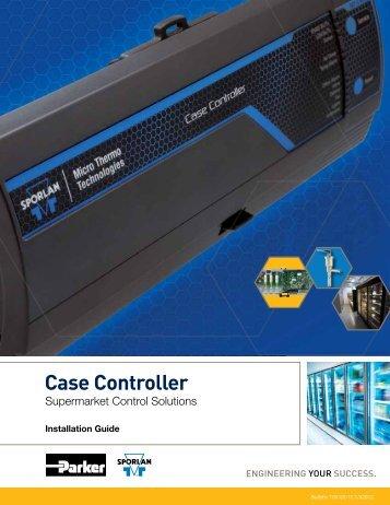Case Controller Supermarket Control Solutions - Sporlan Online