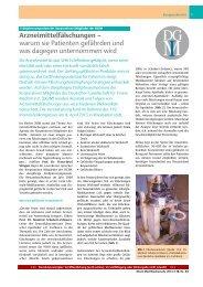 Arzneimittelfälschungen - Deutsche Gesellschaft für Innere Medizin ...