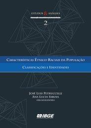 Características Étnico-raciais da População - IBGE