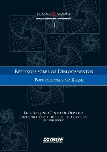Reflexões sobre os deslocamentos populacionais no Brasil - IBGE
