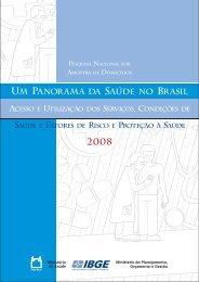 Um Panorama da Saúde no Brasil - IBGE