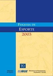Pesquisa de Esporte 2003 - IBGE
