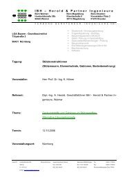 IBH – Herold & Partner Ingenieure