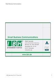 PDF [4,1 MB] - bei der IBH IT-Service GmbH