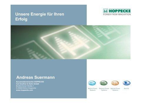 www.hoppecke.com - bei der IBH IT-Service GmbH