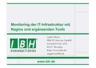 PDF [1,3 MB] - bei der IBH IT-Service GmbH