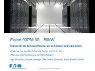 Eaton 93PM 30…50kW - bei der IBH IT-Service GmbH