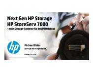 HP 3PAR StoreServ 7000 - bei der IBH IT-Service GmbH