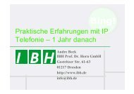 PDF [2,1 MB] - bei der IBH IT-Service GmbH