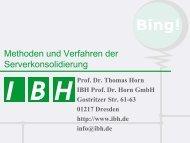 PDF [7,1 MB] - bei der IBH IT-Service GmbH