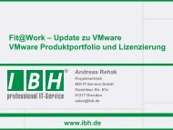 Download This PDF! - bei der IBH IT-Service GmbH