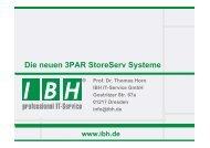 3PAR StoreServ 7400/2 - bei der IBH IT-Service GmbH