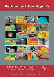 Prospekt Gebäude- und Industriediagnostik zum Downloaden