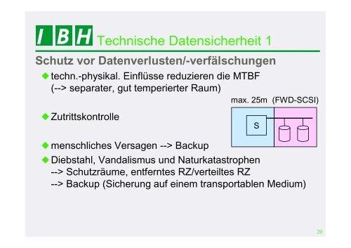 PDF [0,7 MB] - bei der IBH IT-Service GmbH