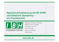 PDF [1,4 MB] - bei der IBH IT-Service GmbH