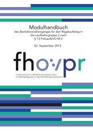 Modulhandbuch - Fh-guestrow.de