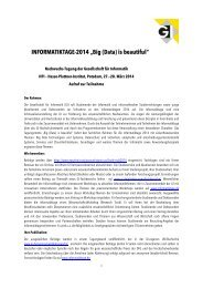 INFORMATIKTAGE-2014 - Hochschule Furtwangen