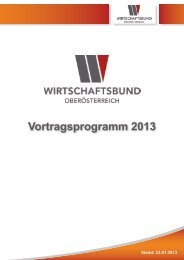 Vortragsprogramm 2013