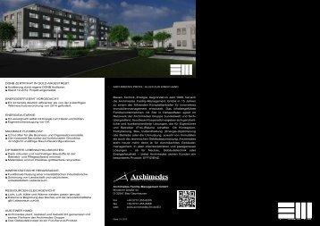 E3 Flyer - allgemein - Archimedes Facility-Management GmbH